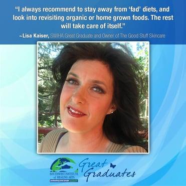 Lisa-Kaiser-Holistic Nutrition - Southwest Institute of Healing Arts