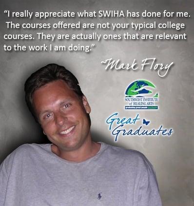 Mark Flory Great Graduate SWIHA